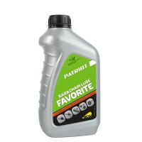 Масло для смазки цепи PATRIOT Favorite Bar&Chain Lube 0,946 л